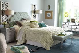 Pier e Headboards Country Bedroom Design with Alluring Diamond