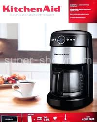Kitchenaid 14 Cup Coffee Makers Maker Stainless Steel Carafe