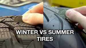 Winter Vs Summer Tires - What's The Difference? - YouTube