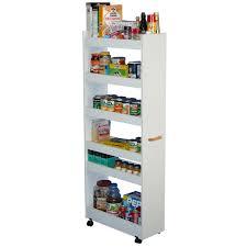 Stand Alone Pantry Closet by Venture Horizon Thin Man Pantry Cabinet Walmart Com