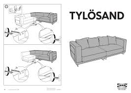 Tylosand Sofa Bed Cover by 100 Tylosand Sofa Bed Cover Ikea Ekeskog Sofa Guide And