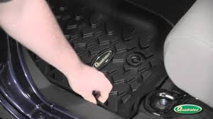 quadratec ultimate floor liners youtube