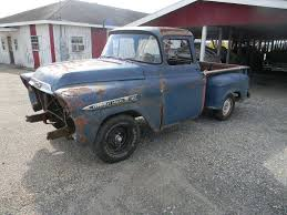 100 Apache Truck For Sale 1958 Chevrolet Big Window Barn Find Project Truck For