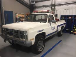 100 1986 Chevy Trucks For Sale Chevrolet K30 Brush Truck SConFIREcom