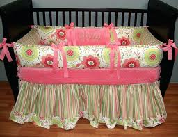 Coral And Mint Baby Bedding by Colorful Crib Bedding Sets Crib Bedding Shabby Chic Roses Crib