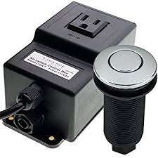 Insinkerator Sink Top Switch Troubleshooting by Gts Ga7 Power 110 Vac Single Outlet Sink Garbage Disposal Air