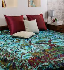 Blue Tie Dye Bedding by Online Shopping India Cotton Double Bed Sheets Purple Color Tie