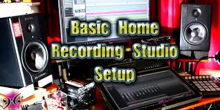 Basic Home Recording Studio Setup