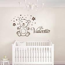 autocollant chambre bébé stickers chambre bébé décorez l univers de bébé