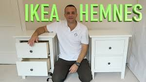 Hemnes Dresser 3 Drawer White by Ikea Hemnes Chest Of 2 Drawers Assembly Youtube