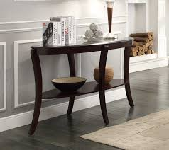 Walmart Sofa Table Canada by Homelegance Pierre Sofa Table With Glass Insert 3508 05