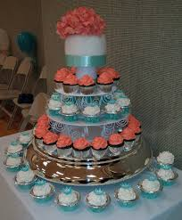 But I Had A Friend Get Married Yesterday When Heard That She Wanted Cupcake Cake Was Totally On Board REALLY LIKE MAKING CUPCAKES