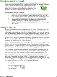 Buying A Car: A Guide - PDF