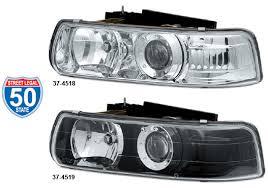 custom projector headlight set for chevrolet 1999 02 chevrolet