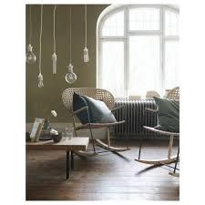 Rocking-chair GRÖNADAL Grey, Natural