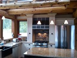 kitchen ideas for log homes