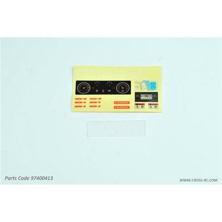 Cross RC Panel Parts: SG4 CZR97400413