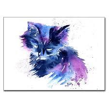 kitty cat kitty cat 5 x 7 print 13cm x 18cm laurasladeart