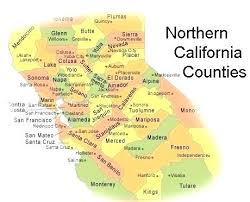 Maps Of Northern State Map County With Cities California Counties