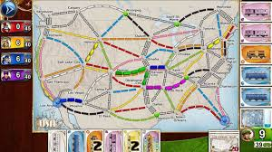 This Is Probably One Of The Most Popular Board Game Adaptations In App Store Players Collect Train Cars That They Use To Claim Route Throughout