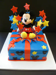 Mickey Mouse t cake images Fondant Cake