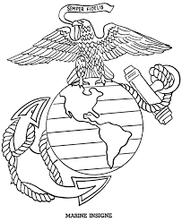 Marine Corps Coloring Pages Printable
