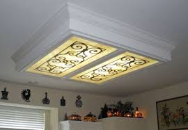 image of fluorescent light fixture lowes ceiling light not