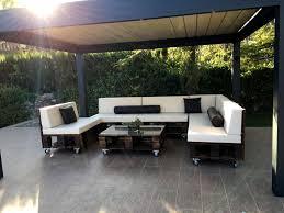 Image Of DIY Modern Patio Furniture Set Made Old Pallets