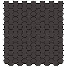 american olean tile unglazed porcelain mosaics 1 x 1 hexagon by