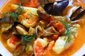 Bouillabaisse Is The Classic French Take On Mediterranean Fishermans Stew Flavored With Orange Peel