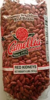 Camellia Red Kidney Beans 4 Lb Bag