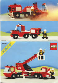 100 Lego Fire Truck Instructions Rescue LEGO Snorkel Squad 6358 Rescue