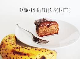 food bananen nutella schnitte starlights in the kitchen