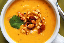 Pumpkin Butternut Squash Soup Vegan by Thai Butternut Squash Sweet Potato Carrot Soup Carlsbad Cravings