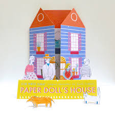 60s Inspired Dolls House From The Printed Peanut
