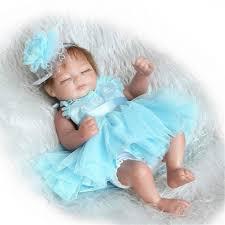 22inch Handmade Lifelike Reborn Baby Doll Silicone Baby Play House