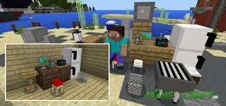 Minecraft PE Furniture Addon