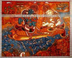 Famous Kerala Mural Artists by Aranmula Jayakrishnan A Tribute To Kerala Mural Art
