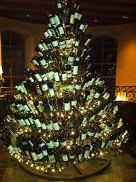 Christmas Tree Lane Altadena by Wine Bottle Christmas Tree Frame Home Decorating Interior