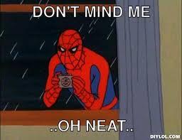 Spiderman Desk Meme Gen by The Codex Needs A Clean Up General Warframe Forums