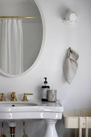Unlacquered Brass Bathroom Faucet by New House Remodel In Maine By Jersey Ice Cream Co Glam Eat In