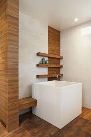 ofuro badewanne quadratisch moderne einrichtung japanische