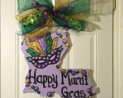 mardi gras door hanger mardi gras wreath mardi gras mask