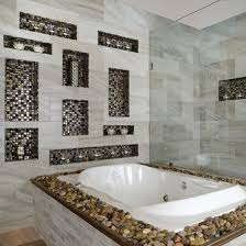 Tiling A Bathtub Deck by B U0026f Ceramics Design Showroom Inc Our Story Home U0026 Design Magazine