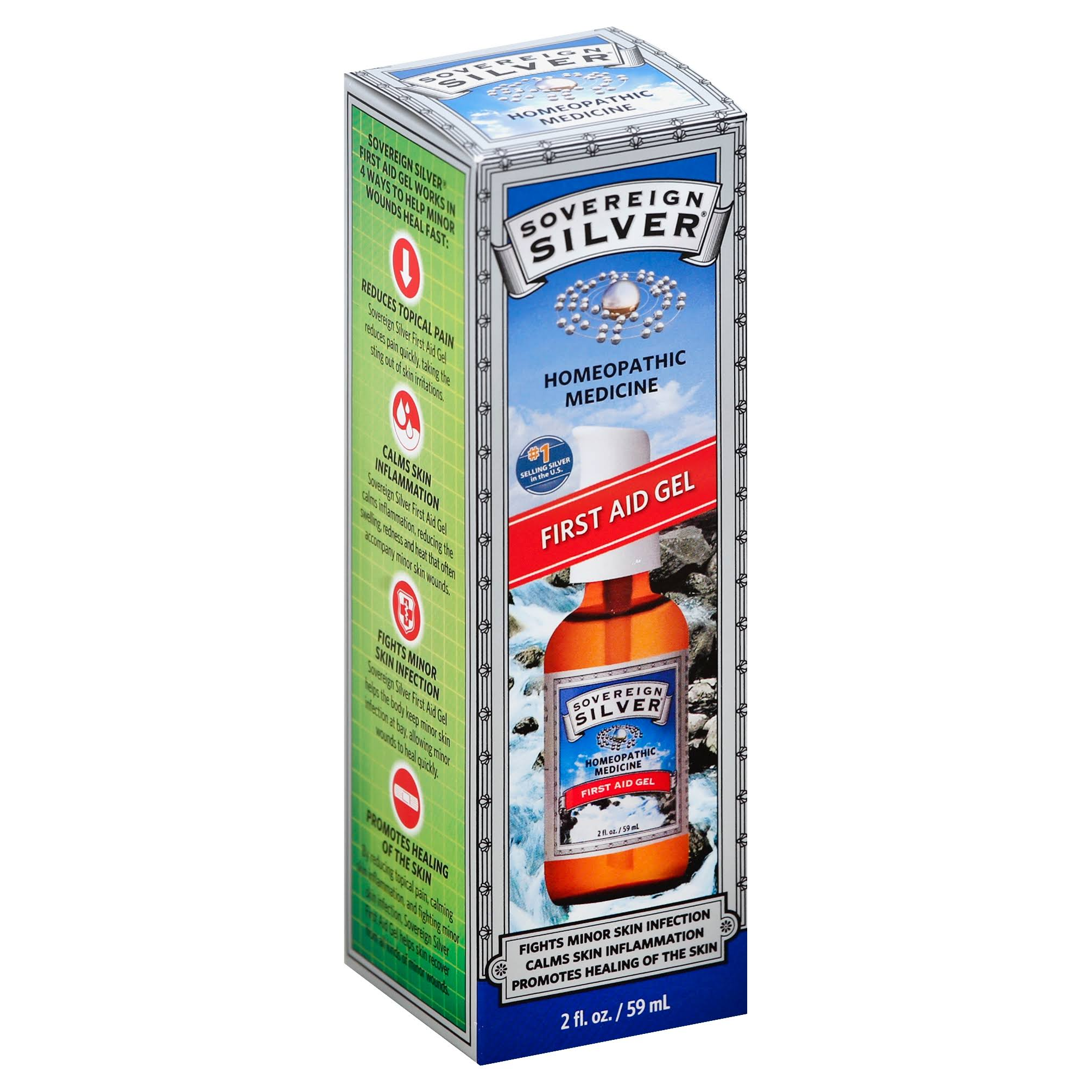 Sovereign Silver First Aid Gel - 2oz