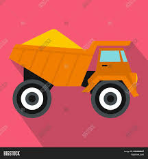 Dump Truck Sand Icon Image & Photo (Free Trial) | Bigstock
