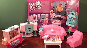 mattel barbie so much to do living room play set 67159 mint in box