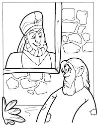 The Rich Man And Lazarus Coloring Page