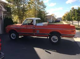 100 1972 Chevy Truck 4x4 K20 Camper Special Chevy Truck Trucks