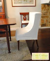 Surprising Pottery Barn Dining Room Chair Slipcovers Grand Awesome Diy And Sale